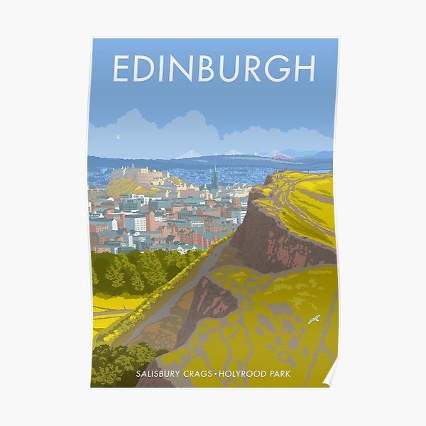 Endinburgh, Salisbury Crags Poster
