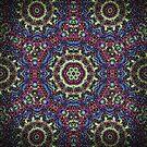 Kaleidoscope Mandala - Trieste by Carrie Dennison
