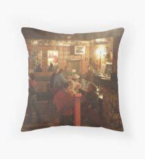 Key Palace Theater Bar Throw Pillow
