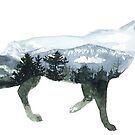 « Landscape Wolf » par Threeleaves