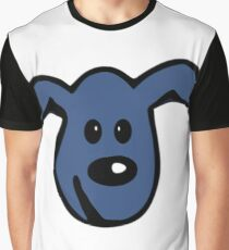 PACS - the little blue dog Graphic T-Shirt