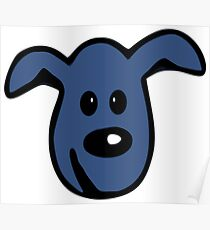 PACS - the little blue dog Poster