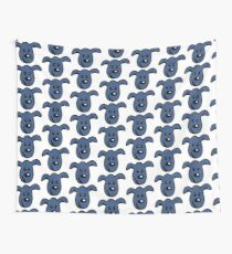 PACS - the little blue dog Wall Tapestry