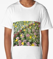 Blooming flowers Long T-Shirt