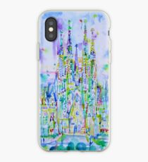 SAGRADA FAMILIA - watercolor painting iPhone Case