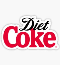 Pegatina Logotipo de Diet Coke