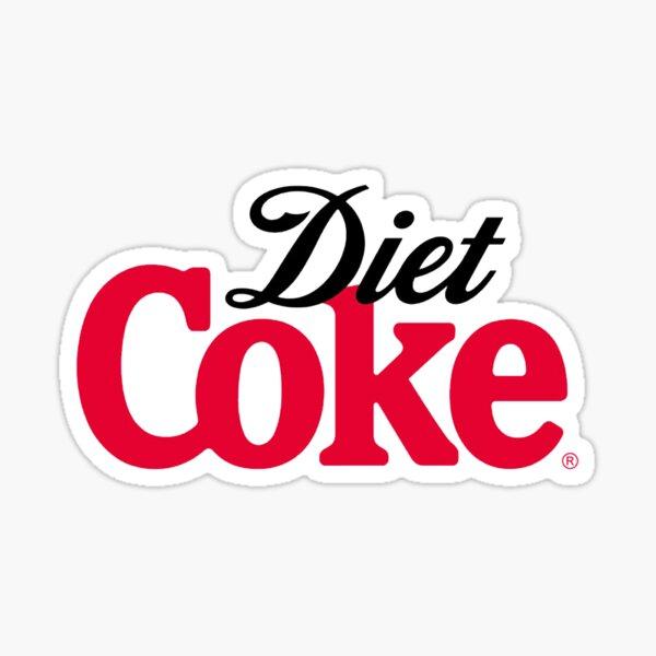 Diet Coke logo Sticker