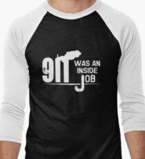 9/11 Was An Inside Job Men's Baseball ¾ T-Shirt