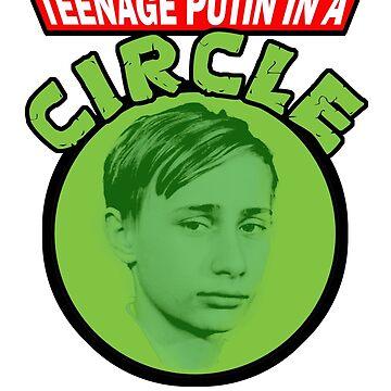 Teenage Putin In A Circle by ccuk66