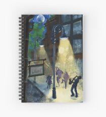 Lights Music Dance Spiral Notebook