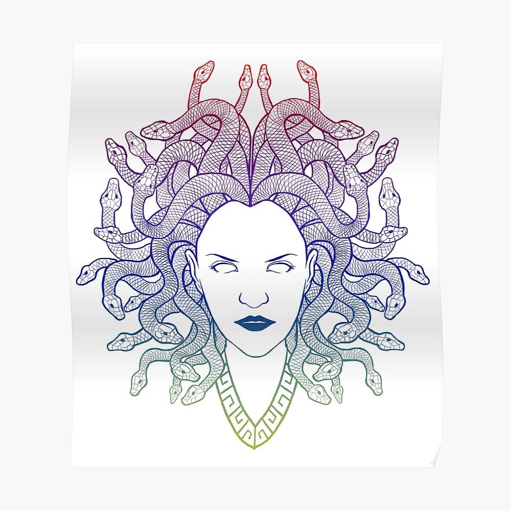 Medusa (colors) Poster