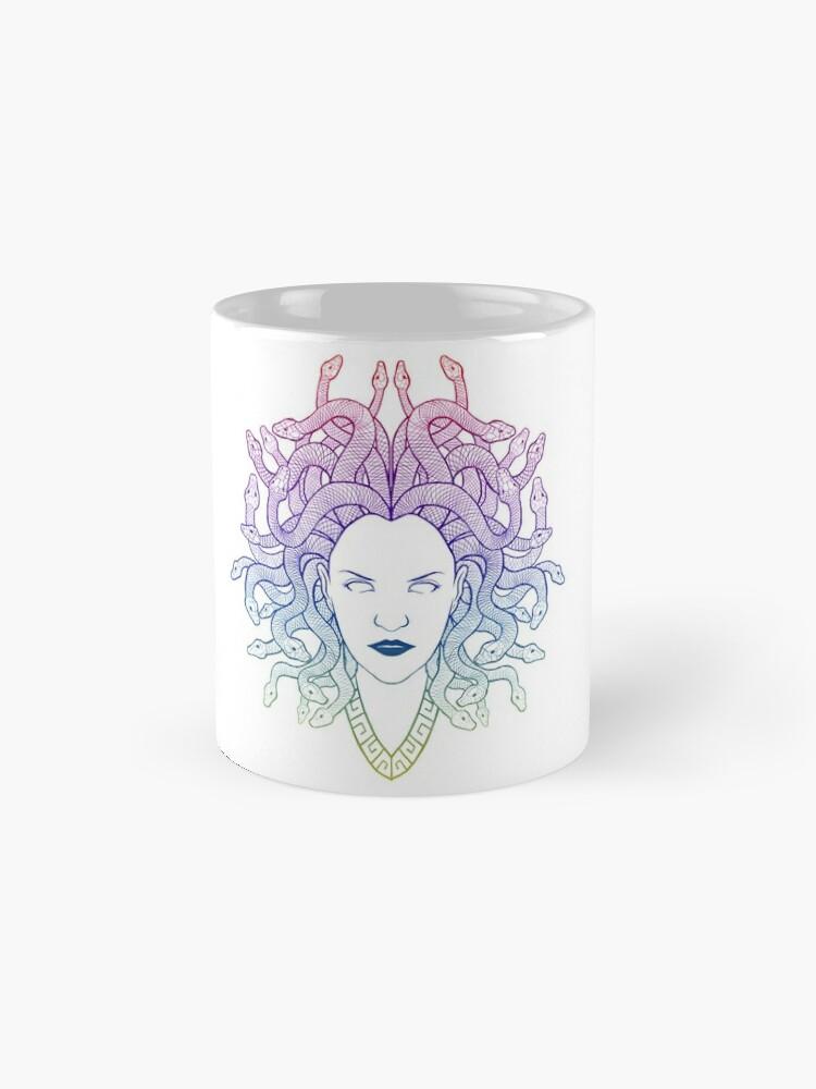 Alternate view of Medusa (colors) Mug