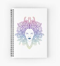 Cuaderno de espiral Medusa (colores)