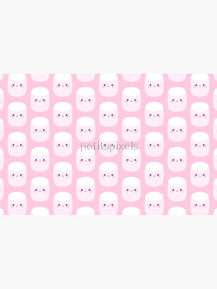 Cute pink marshmallows by petitspixels