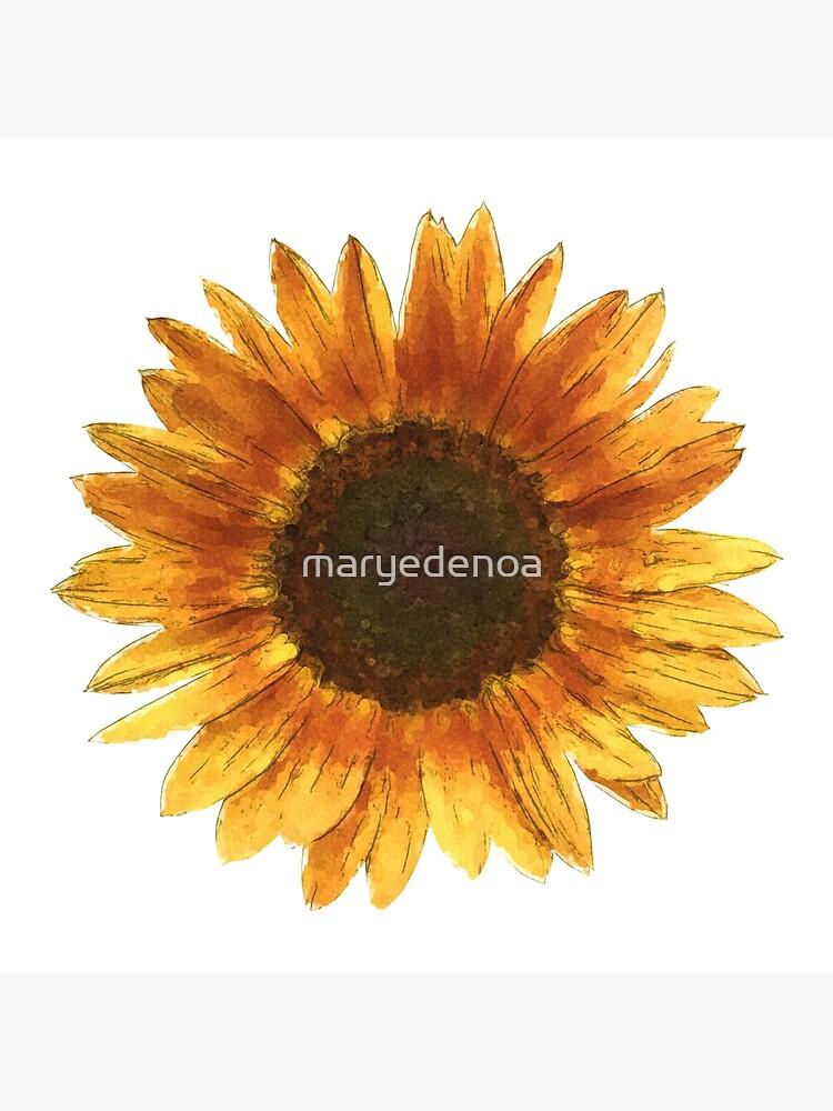 Sunflower by maryedenoa