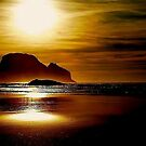 OCEANSIDE SUNSET OREGON COAST by RoseMarie747