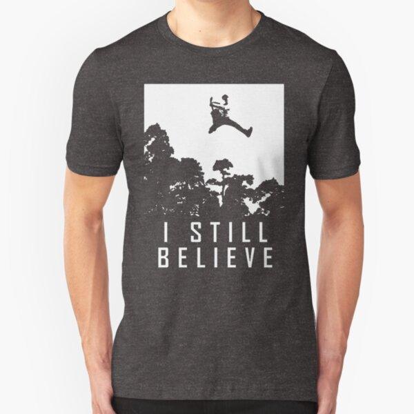 I Still Believe in Rock and Roll Music Fan Shirt Slim Fit T-Shirt