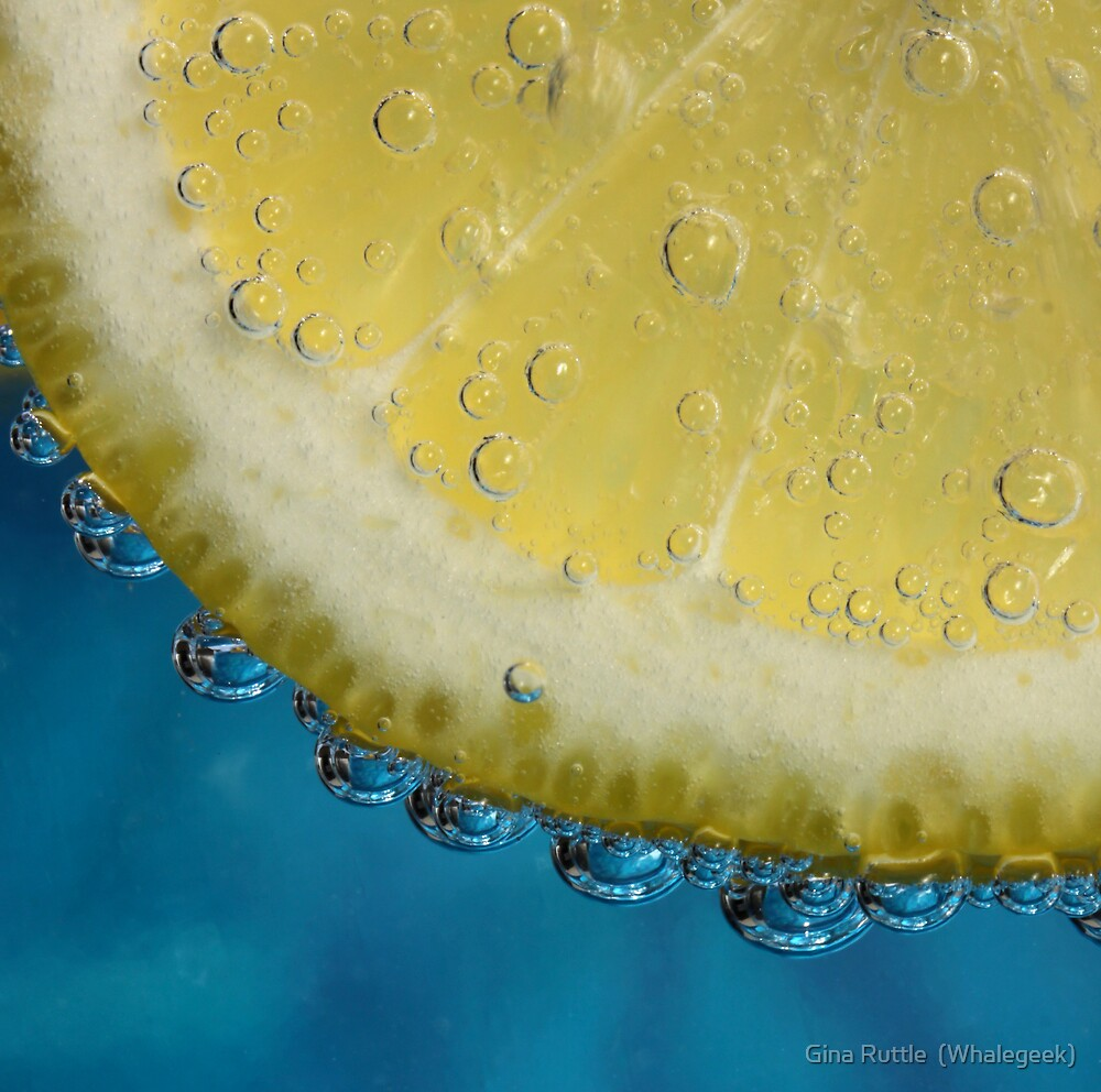G and T With a Slice of Lemon by Gina Ruttle  (Whalegeek)