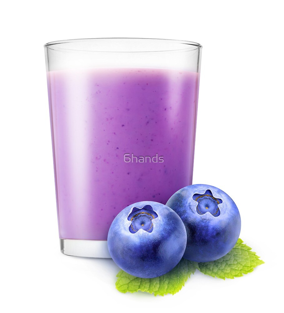 Blueberry smoothie by 6hands