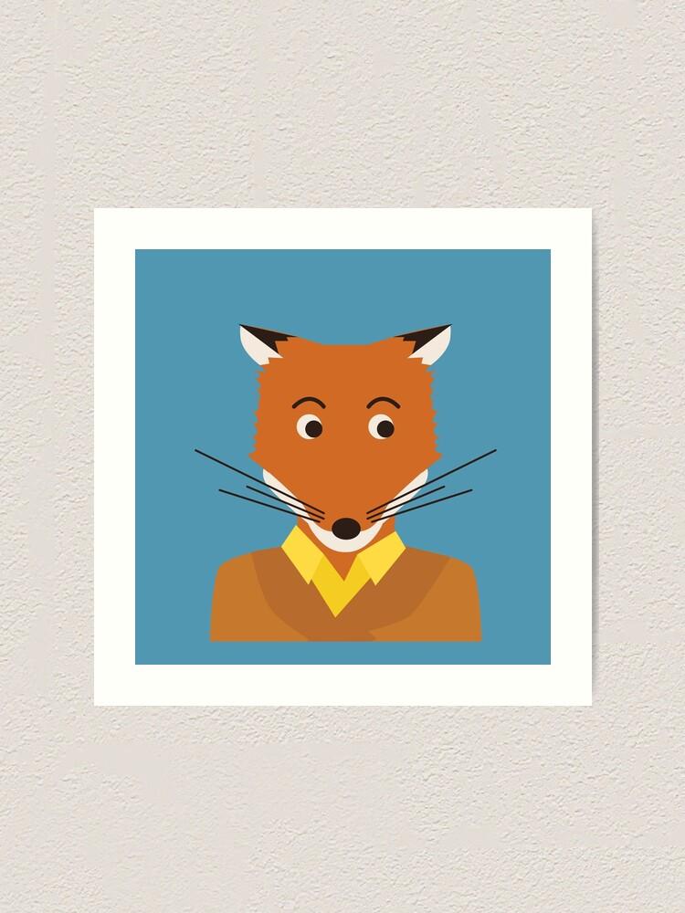 Fantastic Mr Fox Art Print By Sydneykoffler Redbubble