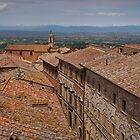 Rooftops of Montepulciano by Viv Thompson