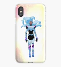 White lion Allura iPhone Case/Skin
