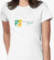 Street View | Trusted Photographer Women's Fitted T-Shirt