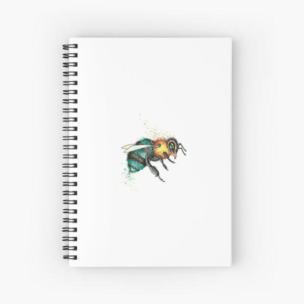The Last Little Blue Bee Spiral Notebook