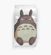 Totoro grincheux Housse de couette