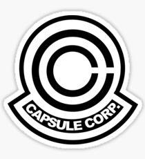 Capsule corp logo Sticker