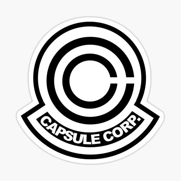 Logo de capsule de corp Sticker
