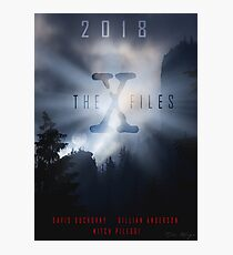 The X-Files S11 poster Photographic Print