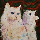 White Cats by Michael Creese