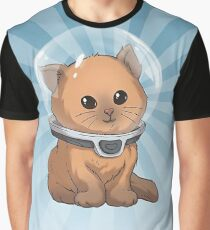Subnautica: Keep Calm Kitty Graphic T-Shirt