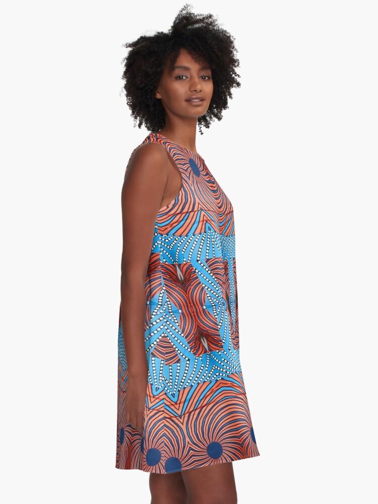 Alternate view of Stylish, fancy, hip, modish, astonishing, amazing, surprising, wonderful A-Line Dress