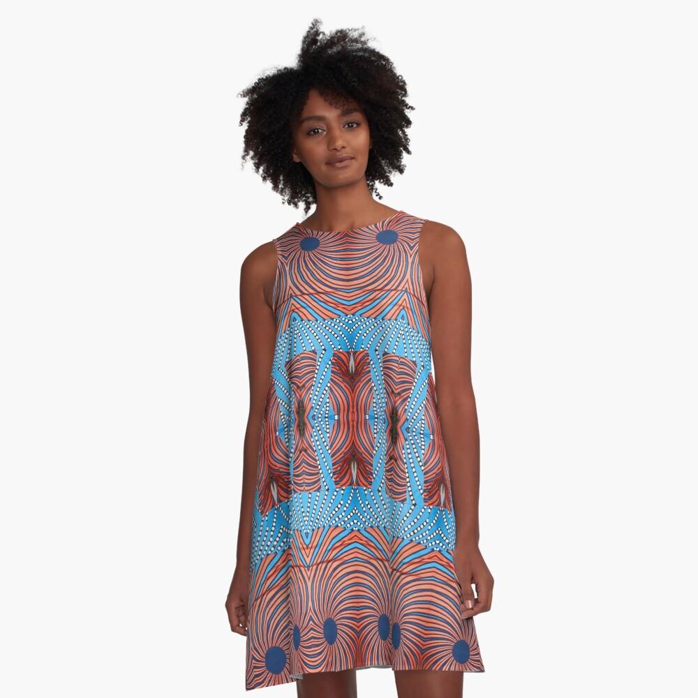 Stylish, fancy, hip, modish, astonishing, amazing, surprising, wonderful A-Line Dress