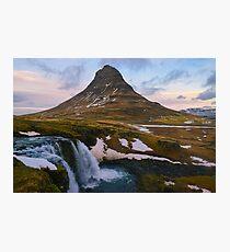 Kirkjufell, Grundarfjordur, Snaefellsnes, Island Fotodruck