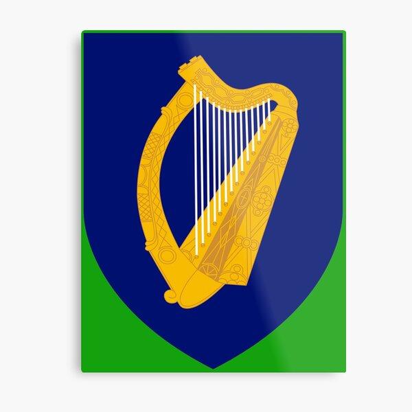 Ireland (Irish Coat of Arms) Metal Print