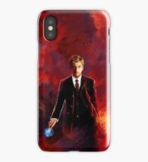 10th Doctor abstract iPhone Case