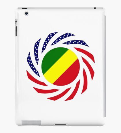 Congolese American (Republic of) Multinational Patriot Flag Series iPad Case/Skin