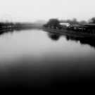 Fog on the Yarra by Andrew  Makowiecki