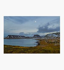 Bulandsgil, Grundarfjordur, Snaefellsnes, Island Fotodruck