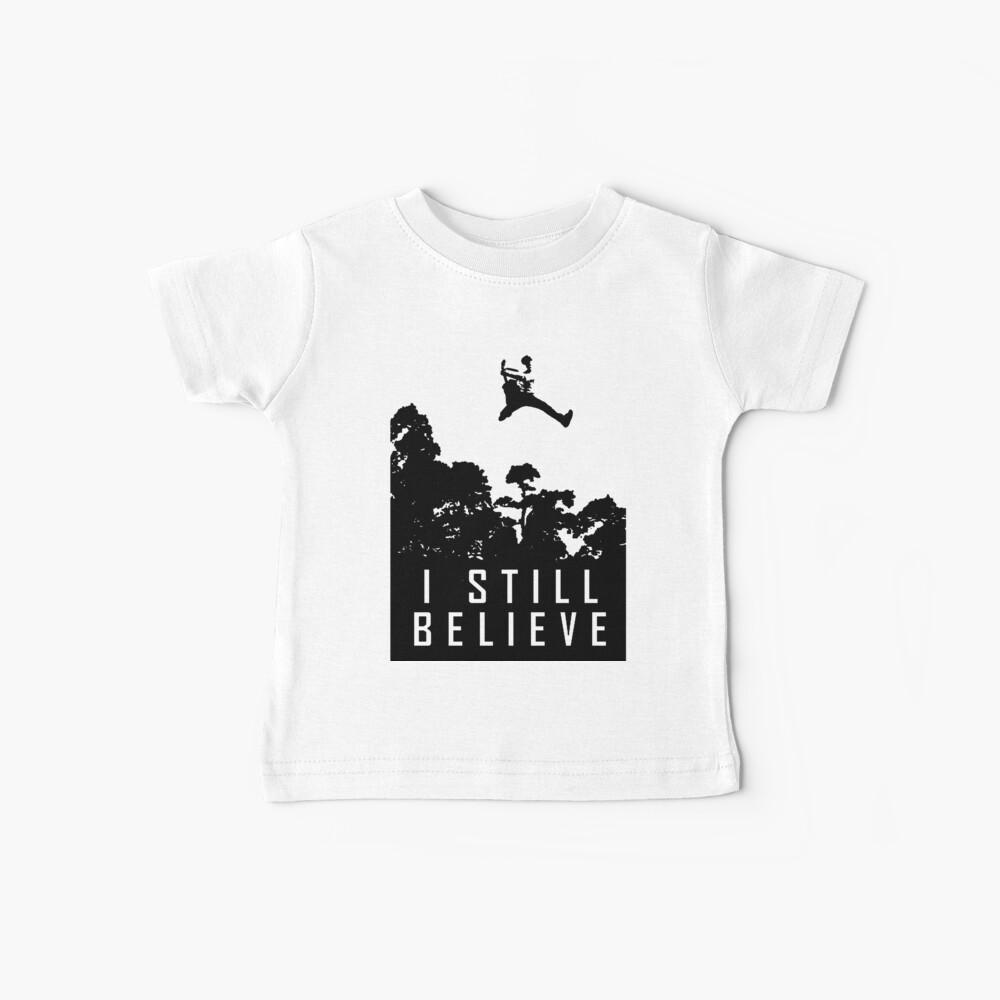 Todavía creo en Rock and Roll Music FTHC Hoodie Camiseta para bebés