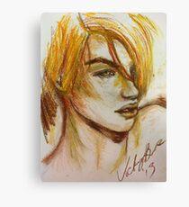 Gold Hair  Canvas Print
