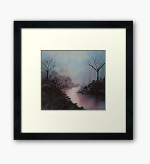 passage tranquille 5 (high resolution print version) Framed Print