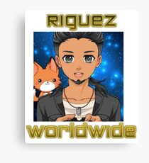 Riguez YouTube Logo WorldWide Canvas Print