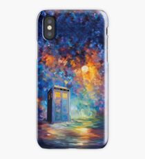 Phone box with the moon light iPhone Case