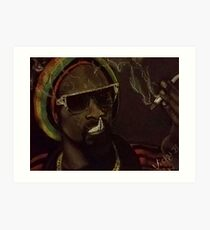 Snoop Dogg Art Print
