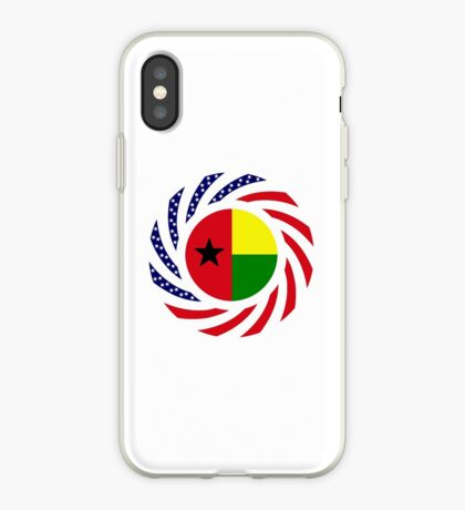 Guinea Bissau American Multinational Patriot Flag Series iPhone Case