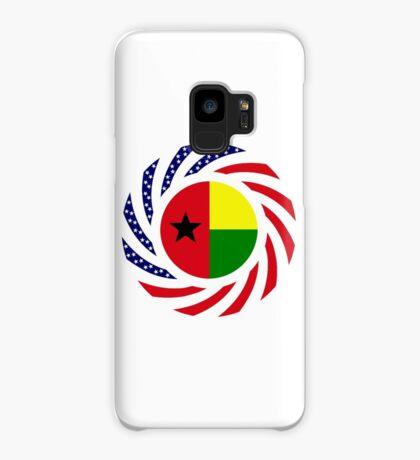 Guinea Bissau American Multinational Patriot Flag Series Case/Skin for Samsung Galaxy